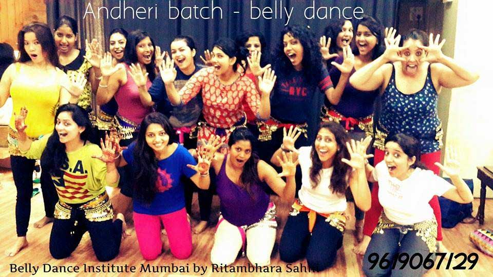 Students of Belly Dance Institute Mumbai