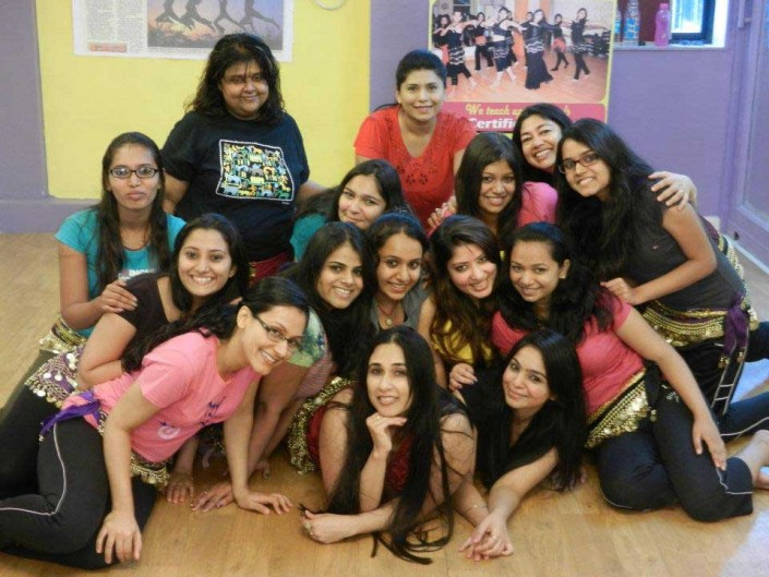students speak from beginners belly dance batch