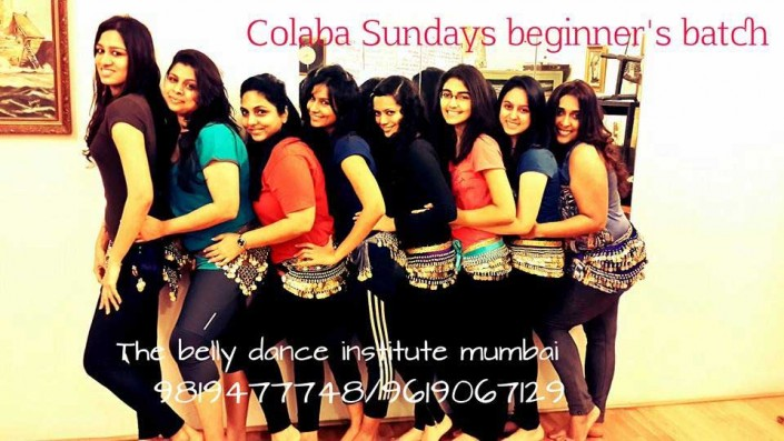 Belly dance colaba batch